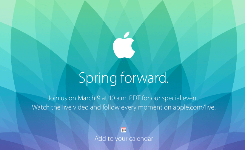 Spring Forward Apple